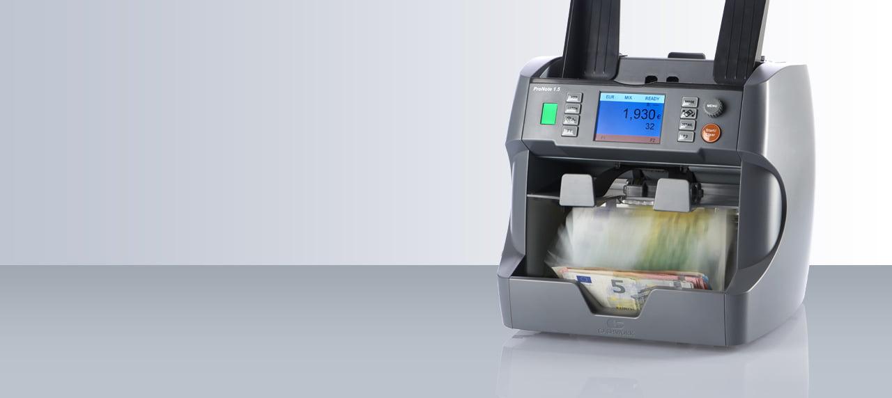 Ce face, mai exact, o masina de numarat bancnote?